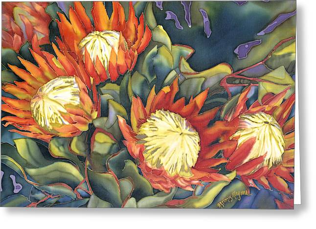 King Protea Greeting Card