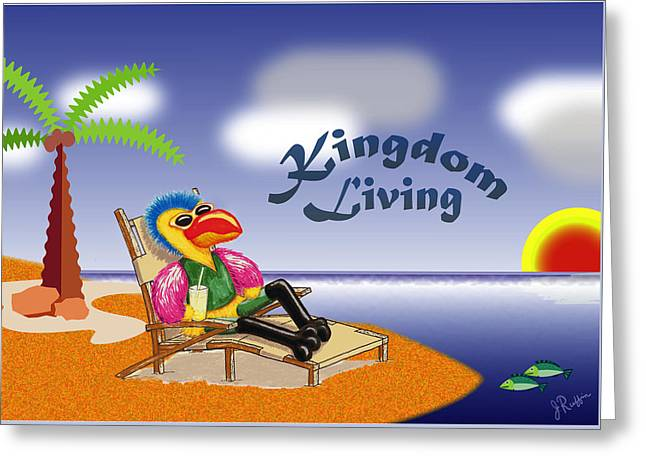 Kingdom Living Greeting Card