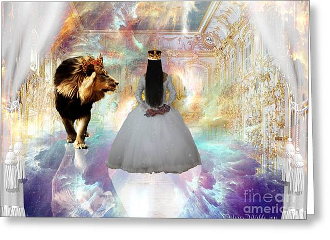 Kingdom Seer  Greeting Card by Dolores Develde