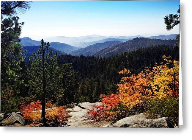 Kings Canyon Greeting Card