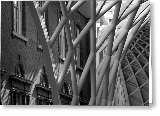 King's Cross Concourse Greeting Card