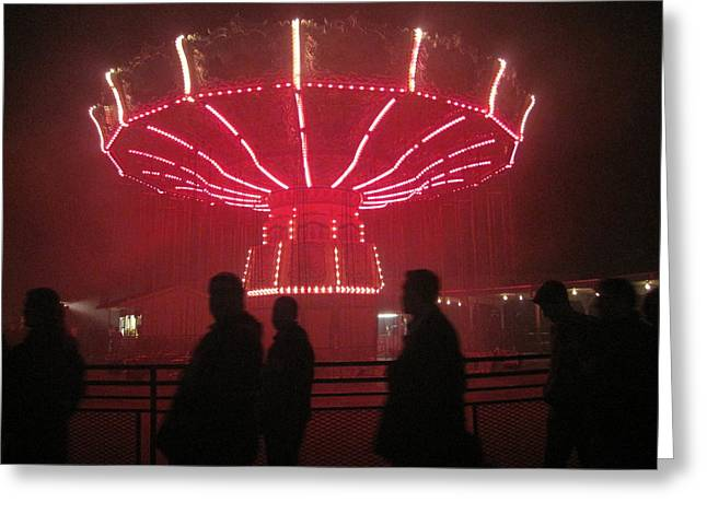 Kings Dominion - 121229 Greeting Card by DC Photographer