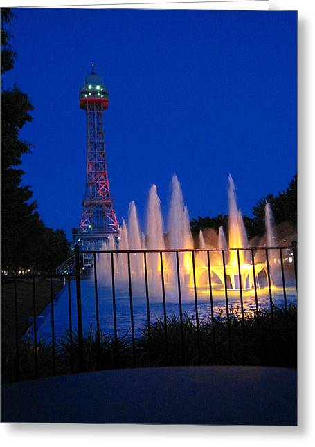 Kings Island - 121240 Greeting Card by DC Photographer