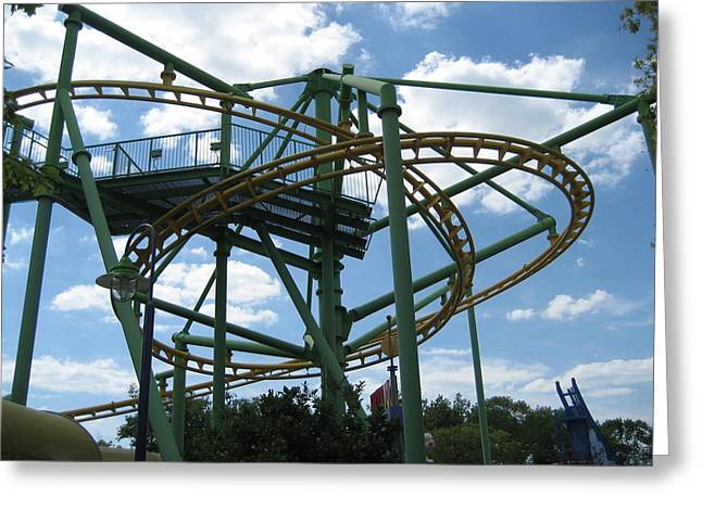 Kings Island - 121262 Greeting Card by DC Photographer