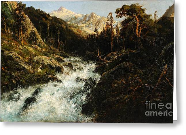 Kings River Greeting Card by Celestial Images