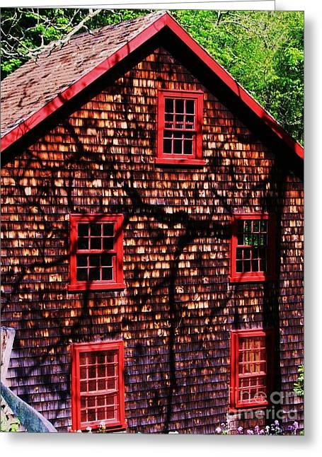 Kingsbury Pond Grist Mill 2 Greeting Card