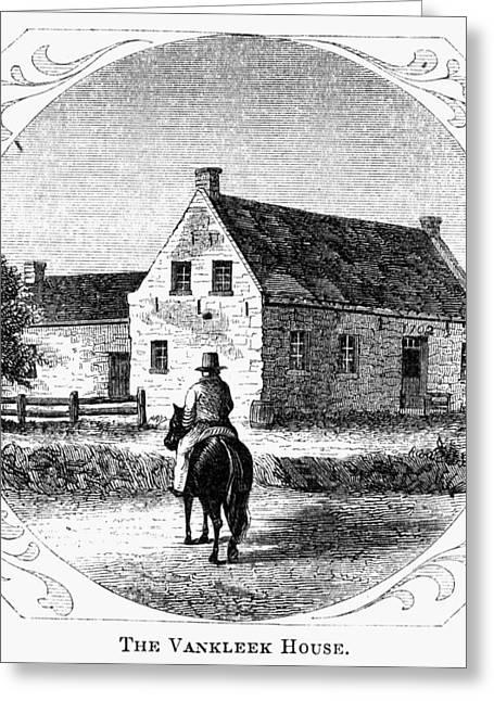 Kingston Legislature, 1778 Greeting Card by Granger