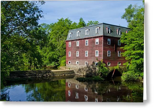 Kingston Mill Princeton Nj Greeting Card