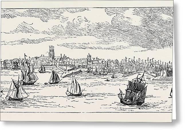 Kingston-upon-hull In 1768 Greeting Card
