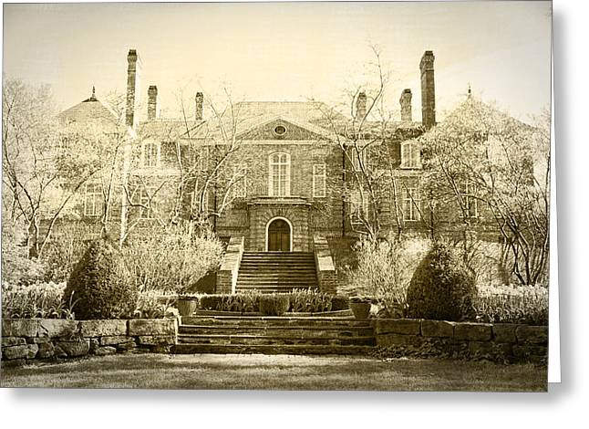 Kingwood Mansion Greeting Card by Mary Timman