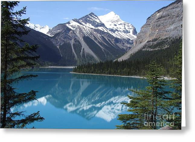 Kinney Lake - Canada Greeting Card