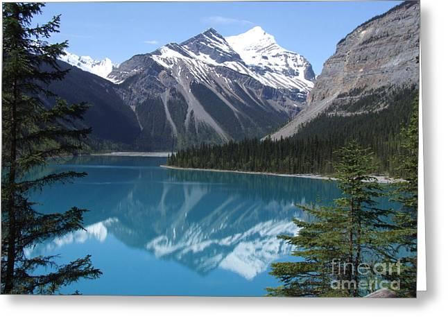 Kinney Lake - Canada Greeting Card