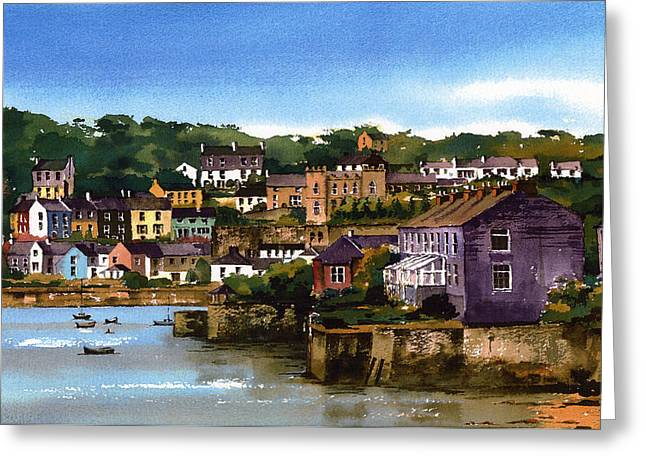 Kinsale Harbour West Cork Greeting Card