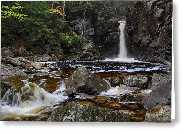 Kinsmans Falls Greeting Card by Mike Farslow