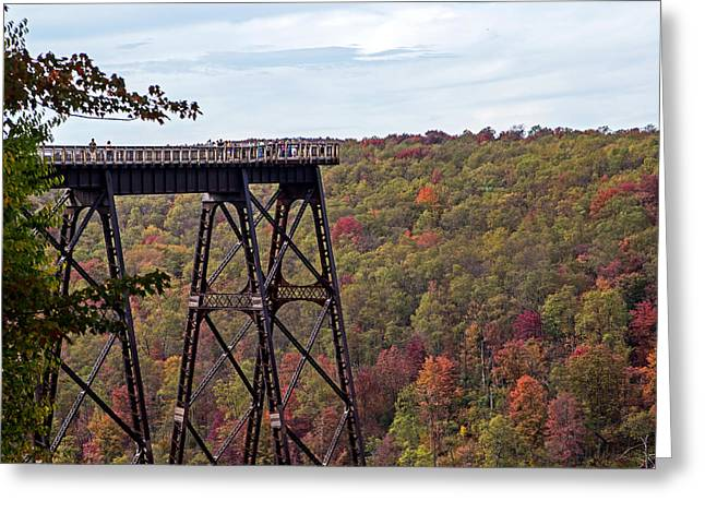 Kinzua Bridge Greeting Card