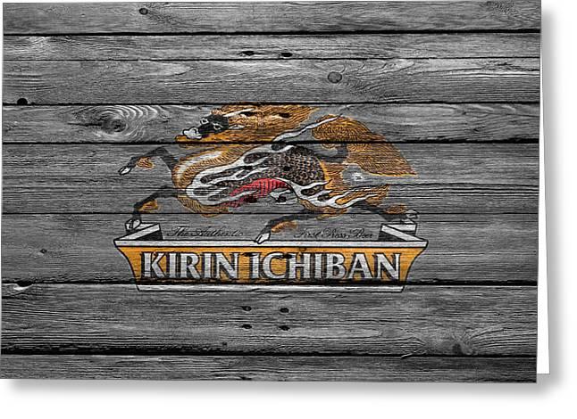 Kirin Ichiban Greeting Card by Joe Hamilton