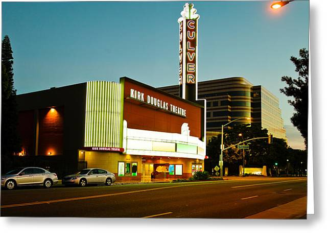 Kirk Douglas Theatre, Culver City, Los Greeting Card