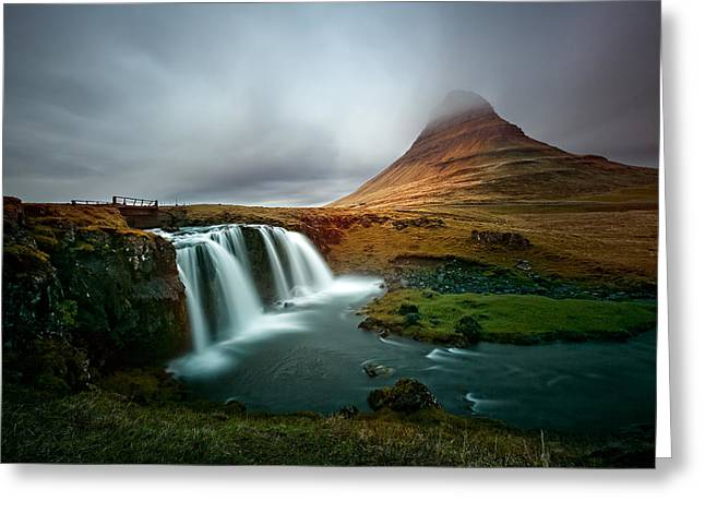Kirkjufell Greeting Card by Ian Good