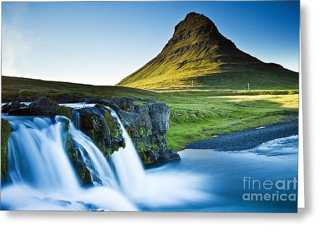 Kirkjufell Mountain Greeting Card