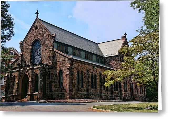Kirkpatrick Chapel Greeting Card by Allen Beatty