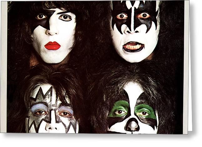 Kiss - Dynasty Greeting Card by Epic Rights