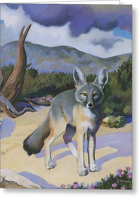 Kit Fox Greeting Card