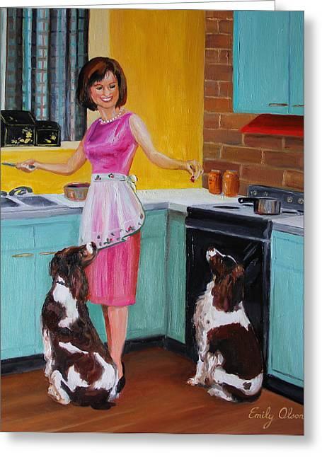 Kitchen Companions Greeting Card