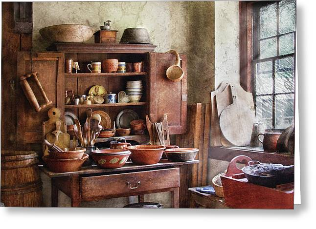 Kitchen - For The Master Chef  Greeting Card by Mike Savad