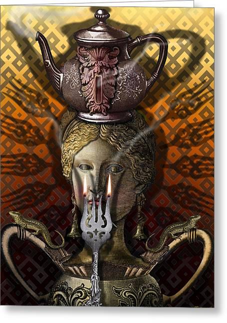 Kitchen Goddess Greeting Card
