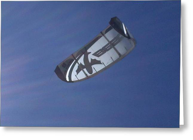 Kite Surfing 2 Greeting Card by Heather L Wright