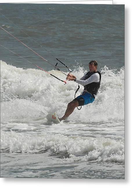 Kite Surfing 62 Greeting Card