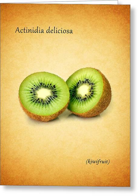 Kiwifruit Greeting Card by Mark Rogan
