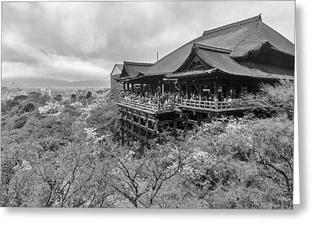 Kiyomizu-dera Temple, Kyoto, Kyoto Greeting Card by Panoramic Images