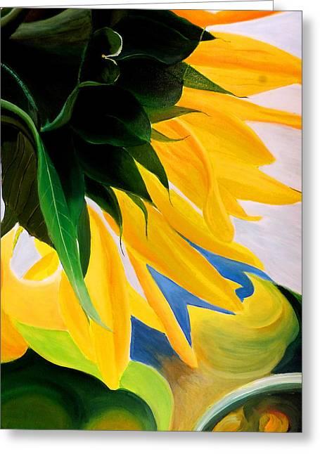 Kk's Sunflower Greeting Card