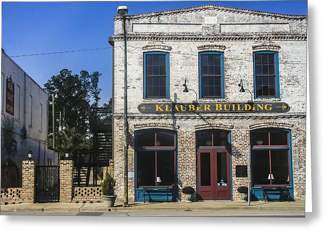 Klauber Building  Greeting Card by Steven  Taylor