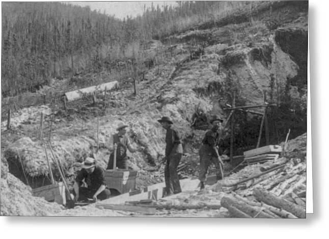 Klondike Gold Rush, Discovery Claim Greeting Card