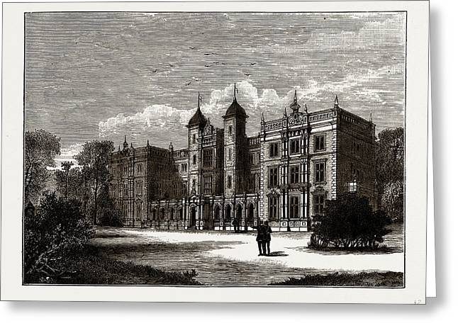 Kneller Hall, Uk Greeting Card by Litz Collection