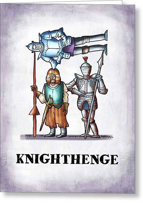 Knighthenge Greeting Card