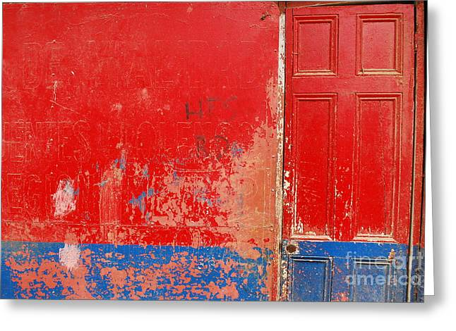 Knock Knock Greeting Card by Susan Hernandez