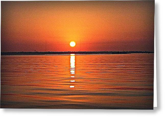 Greeting Card featuring the photograph Known Serenity by Joetta Beauford