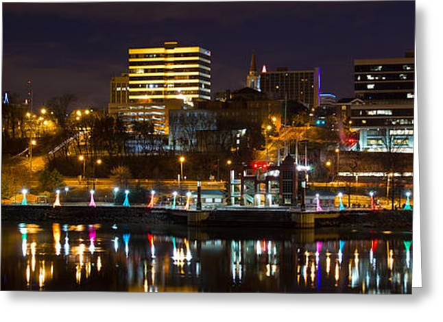 Knoxville Waterfront Greeting Card by Douglas Stucky