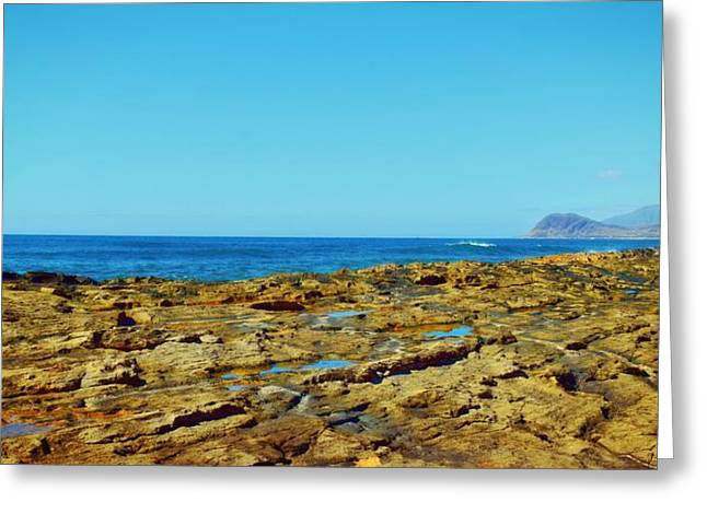 Ko Olina Shoreline 3 Greeting Card by Brandy Muses