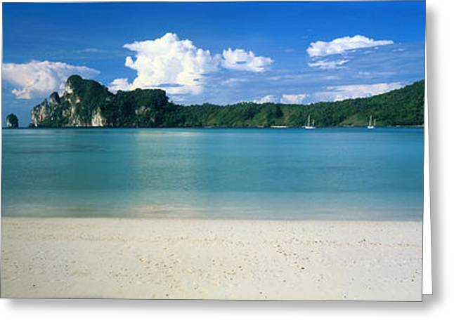 Ko Phi Phi Islands Phuket Thailand Greeting Card by Panoramic Images