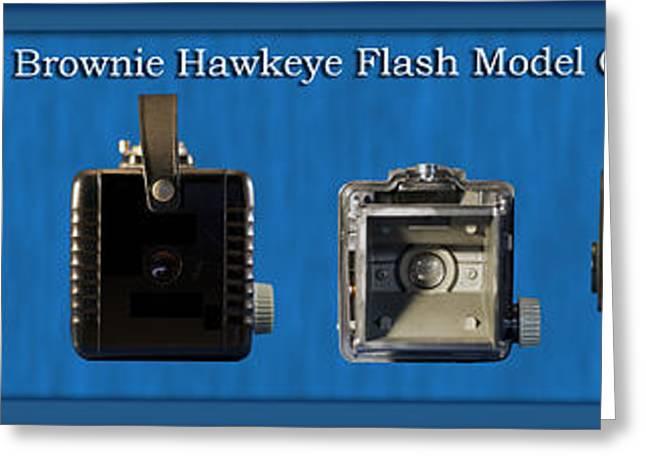 Kodak Brownie Hawkeye Camera Greeting Card by Thomas Woolworth