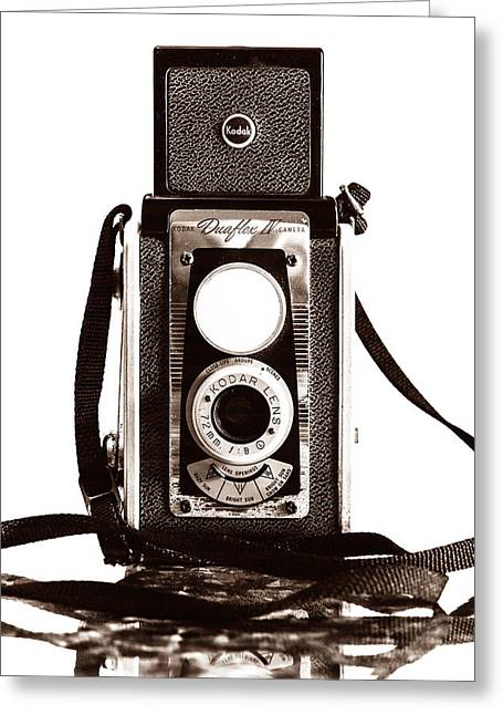 Kodak Duaflex Iv Camera Greeting Card by Jon Woodhams