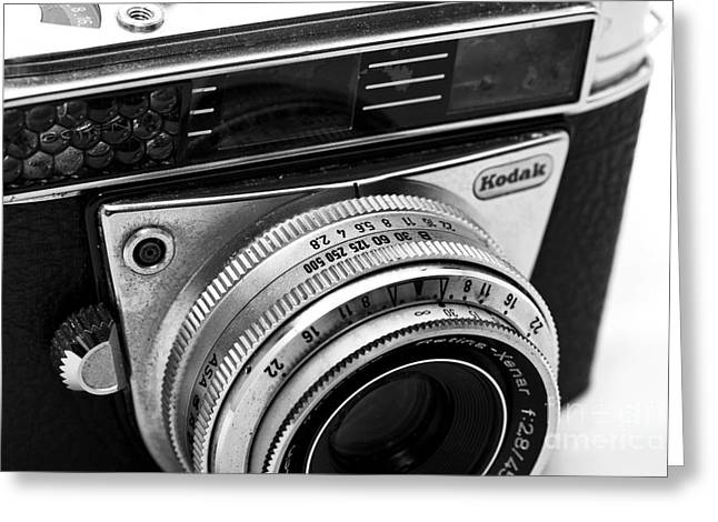 Kodak Retina Camera Greeting Card by John Rizzuto