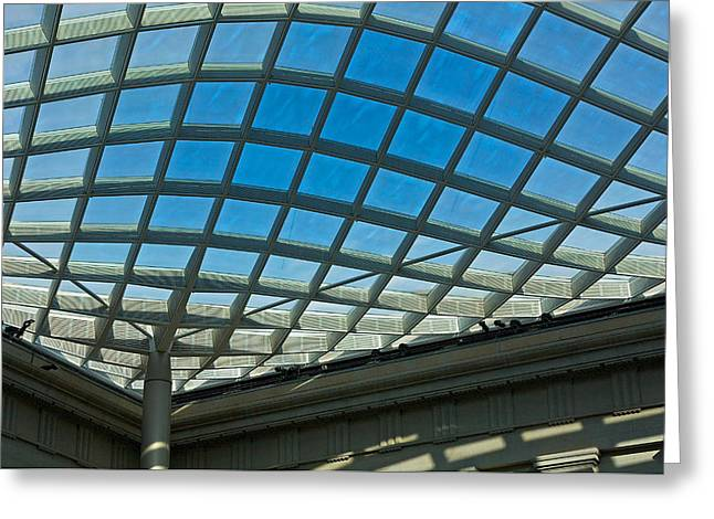 Kogod Courtyard Ceiling #3 Greeting Card