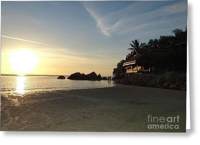 Koh Phangan Beach Greeting Card