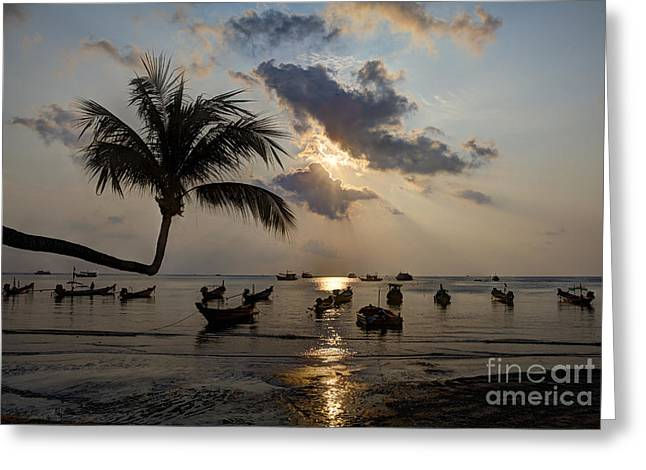 Koh Tao Sunset Greeting Card