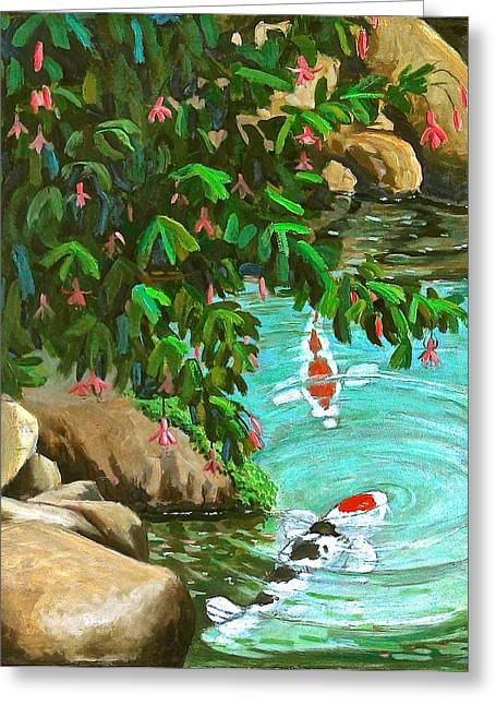 Koi Kingdom Greeting Card
